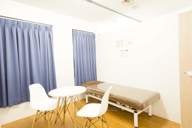 キレイモ千葉店の個室